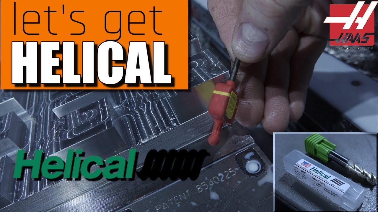 Testing Helical Tools on the HAAS VM3!