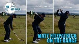 ON THE RANGE WITH MATTHEW FITZPATRICK