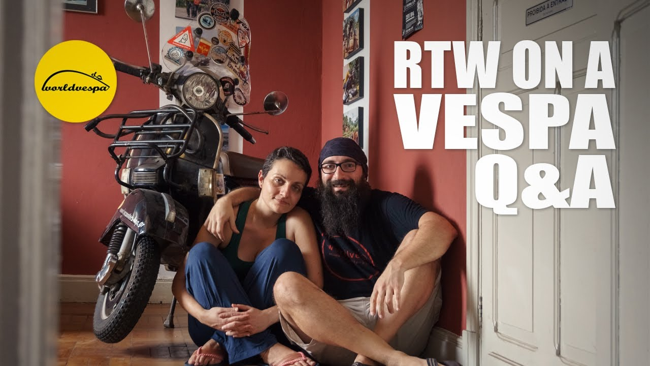 66 Travel Related Questions and Answers   Vespa Trip Around The World