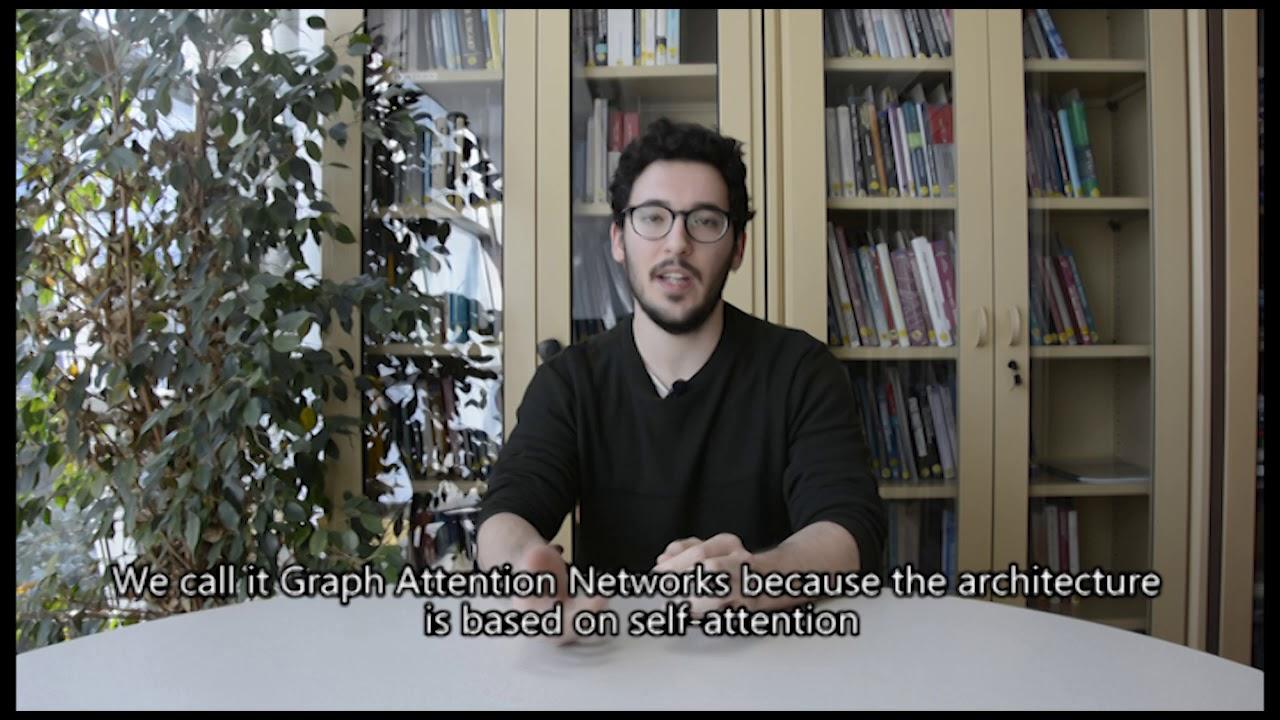Guillem Cucurull explains his ICLR 2018 paper