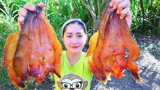 Yummy Salty Dried Fish Cooking - Salty Dried Fish Recipe - Cooking With Sros