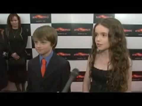 Chandler Canterbury & Lara Robinson  Knowing NY Premiere  1