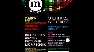 Paco Ymar E Luca Pechino - 25-09-2010 - @Matrix (Apertura Stagione 2010 - 2011)