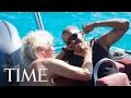 Barack Obama vs. Richard Branson: Kitesurfing In Paradise | TIME