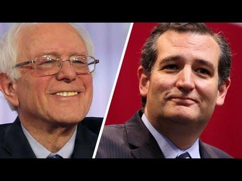 Alternate History: 2016- Ted Cruz vs Bernie Sanders