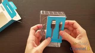 Розпакування кабель Anker PowerLine microUSB-USB 0.9 м V3 Space Gray