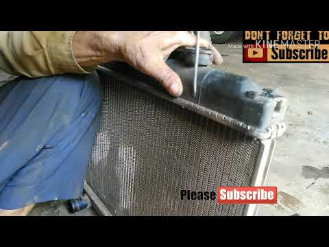 How to Clean Car Radiator || Full at home how to change