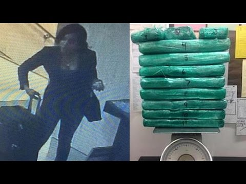 Flight Attendant Caught Smuggling A LOT Of Cocaine