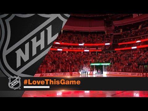 Devils fans belt out anthem to aid singer