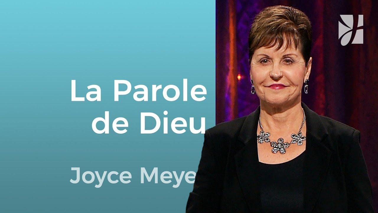 Croyez-vous ce que dit la Bible ? (1/2) - Joyce Meyer - Grandir avec Dieu