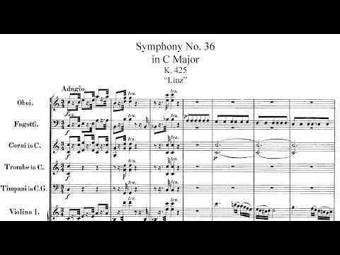 """Mozart - Symphony No. 36, K. 425 """"Linz Symphony"""" (1783)"""