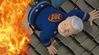 Feuerwehrmann Sam Deutsch Neue Folgen |  Feuerwehrmann auf dem Dach - Rettungseinsatz WildBrain