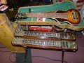 Gretsch Country gentleman from 1962 and fender deluxe reverb from 1964, 1965 on eBay now