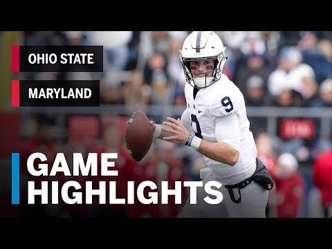 Highlights: Penn State at Rutgers | Big Ten Football