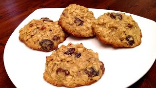 Oatmeal Cookies With Dried Fruits And Nuts (hd)