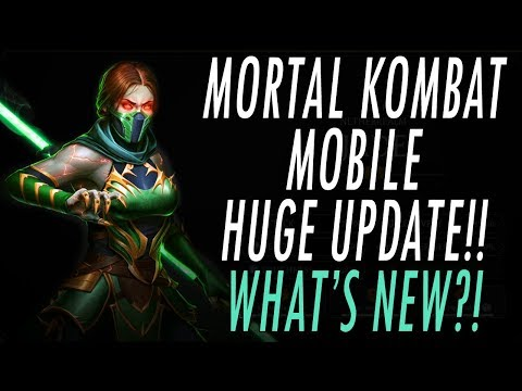 MORTAL KOMBAT 11 MOBILE UPDATE!! NEW CHARACTERS, NEW GAME MODES, & NEW DIAMONDS!! MK11 MKX MK MOBILE thumbnail