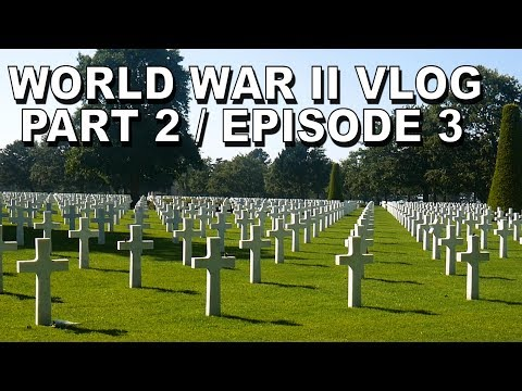 OMAHA MUSEUM, WAR CEMETERY and CAEN CITY TOUR!! Europe Vlog