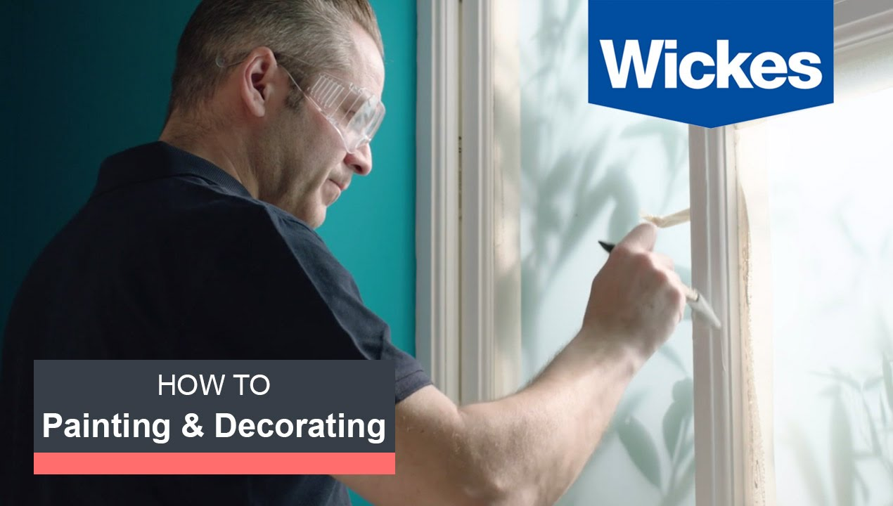 How To Paint Interior Woodwork With Wickes Youtube
