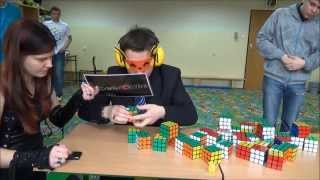 Rubik´s cube World Records 2014 - Out of date