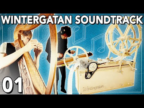 Wintergatan Soundtrack 01 - MUSIC BOX, HARP & HACKBRETT