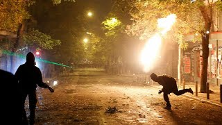 Athens riots: police clash with protesters on 10th anniversary of teen's death