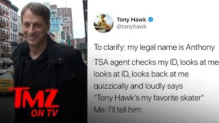 Tony Hawk's Twitter Is A Wonderfully Funny Place | TMZ TV