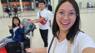 Улетели в Корею через Италию! Аэропорт в Риме, самолёт, наш перелёт! /08.08.19