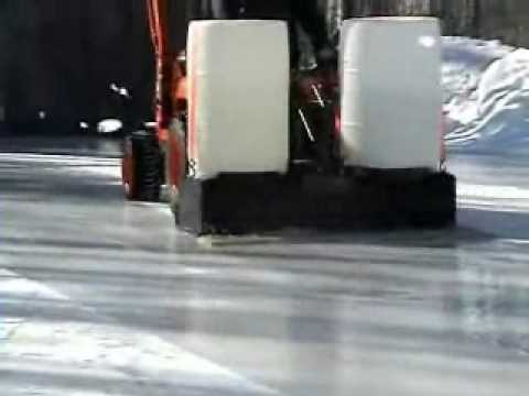 Homemade Zamboni #3 - YouTube