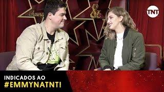 #EmmyNaTNT | MICHEL AROUCA E CAROL MOREIRA COMENTAM AS INDICAÇÕES AO EMMY