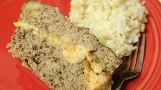 Ribbon Meatloaf (stuffing And Cheese)