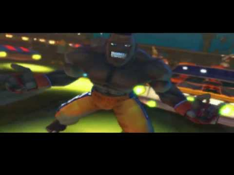 New Super Street Fighter IV trailer