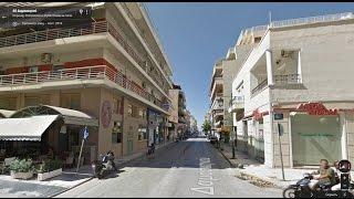 Часть 36. Город Коринф. Part 36. City Corinth(Картографические данные: Google, DigitalGlobe Map data : Google, DigitalGlobe Видео создано на основе дорожных панорам и Карт Google..., 2017-01-24T13:26:43.000Z)