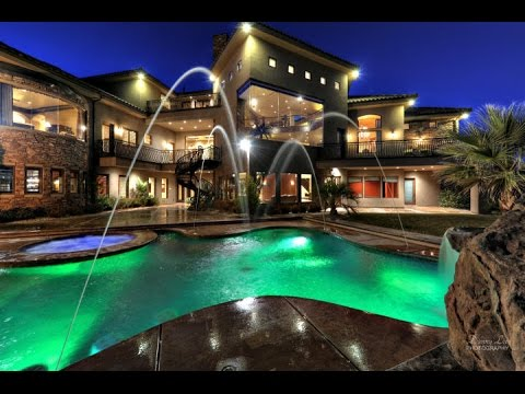 Southwest utah mansion for sale in st george utah youtube for Modern homes utah for sale