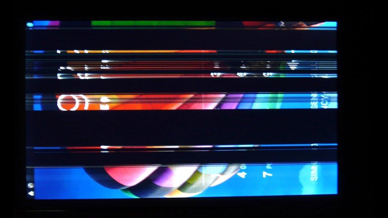 Screen Black Stripes FIX