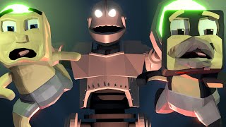 minecraft   who s your daddy secret door baby killing titan end of the world baby titan
