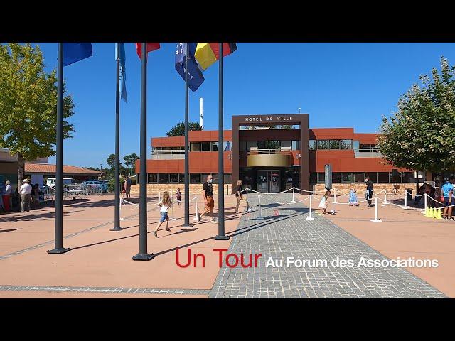 FA 00 - Panorama - Forum des Associations Lège-Cap Ferret.