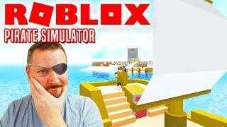 HAN STJAL MIN BÅD! - Roblox Pirate Simulator Dansk Ep 1