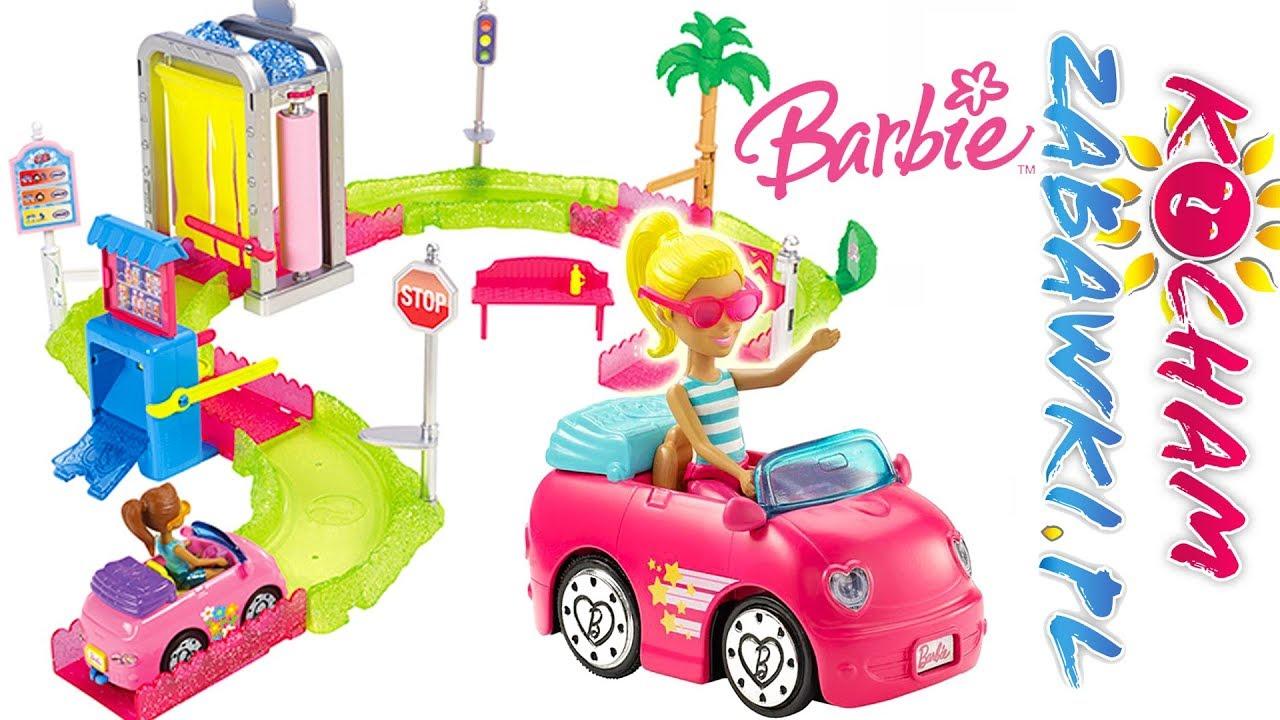 Barbie on the go • Myjnia samochodowa • Brudne autko • bajki po polsku