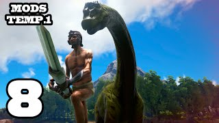 QUE ME PISAN!! ARK: Survival Evolved #8 Con Mods
