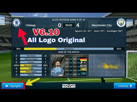 Dream League Soccer 2019 Mega MOD Apk V6 10 (All Players Unlocked &  Unlimited Coins) No Root