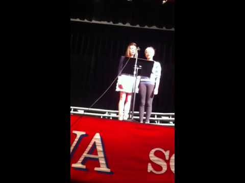 Erica Janey and Bri Sislo-Schutta singing Pié Jesu