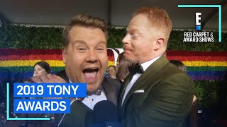 "Jesse Tyler Ferguson to James Corden: ""Don't F--k It Up"" 