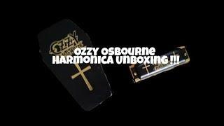 OZZY OSBOURNE HARMONICA UNBOXING!!!!