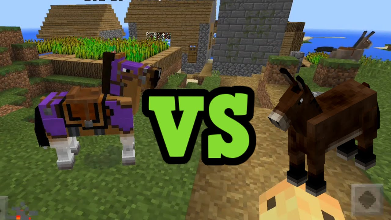 minecraft how to make a mule train