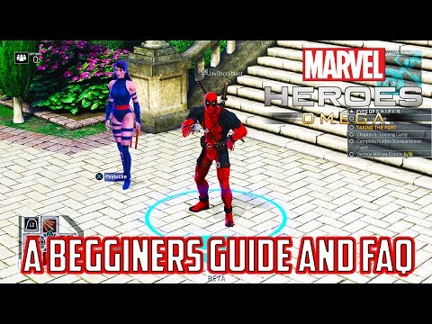 Marvel Heroes Omega A Beginners Guide and Frequently Asked Questions