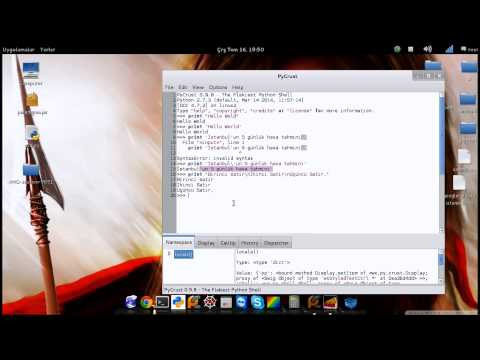 Python-Ders5 Kacıs dizileri