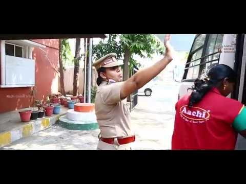 Aachi Global school : Police Station Field Trip