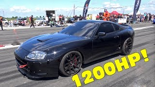 1200HP TOYOTA SUPRA - INSANE ACCELERATIONS!
