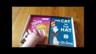 Dr. Seuss Monthly Book Club - Unboxing