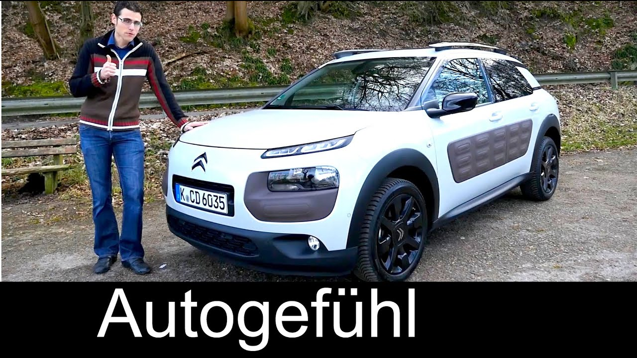 2016 citroen c4 cactus test driven full review 100 hp diesel shine autogef hl youtube. Black Bedroom Furniture Sets. Home Design Ideas